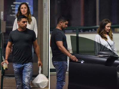 Minka Kelly & Wilmer Valderrama -- Once You Go Fez ... Y'know What They Sez (PHOTOS)