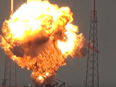 SpaceX Explosion -- Mark Zuckerberg to Elon Musk ... You Destroyed My Satellite!!! (VIDEO + PHOTO)