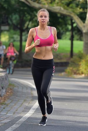 Louisa Warwick Running in NYC