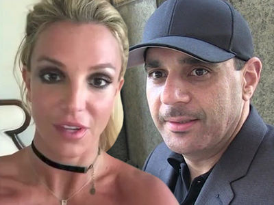 Britney Spears -- Ends War with Ex-Manager Sam Lutfi