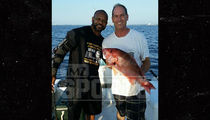 Roy Jones Jr. -- Gone Fishin' ... But I Ain't Done Boxing (PHOTO)