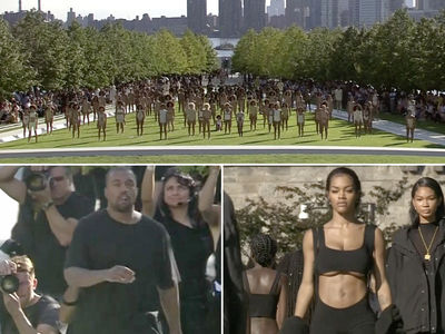 Kanye West -- New Yeezy Collection ... More Teyana Taylor (PHOTO GALLERY)