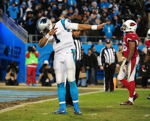Cam Newton Dabbing For The NFL Season Opener