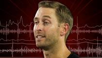 Texas Tech Coach Kliff Kingsbury -- Wrestling Stunt Fired Up Team ... And Then We Kicked Ass