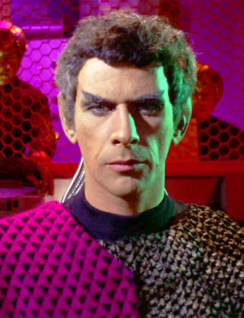 "Jack Donner as ""Romulan Subcommander Tal."""
