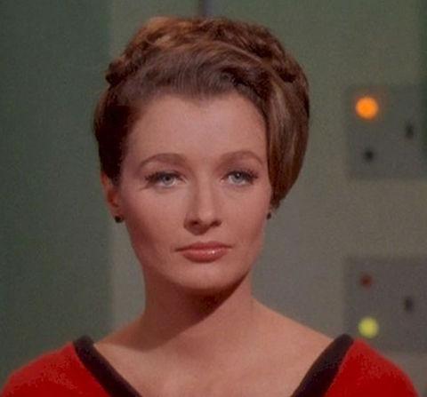 """Diana Muldaur as """"Dr. Ann Mulhall."""""""