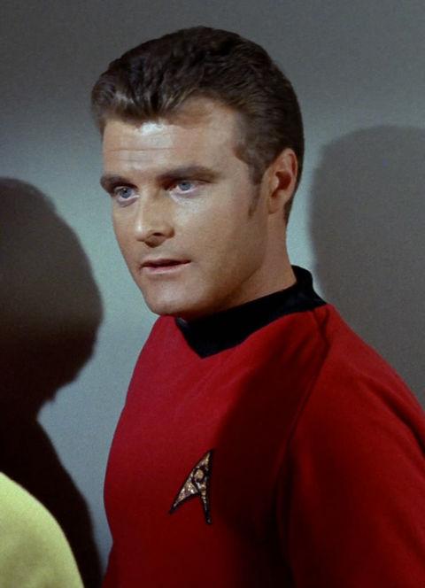 """Eddie Paskey as """"Lieutenant Leslie."""""""