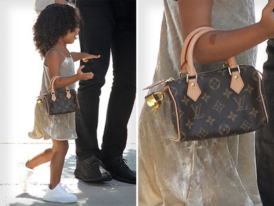 North West -- I'm the Louis Vuitton Donna (PHOTO)