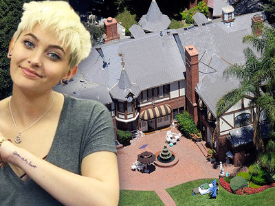 Paris Jackson -- Takes the Back House ... at Michael's Encino Crib