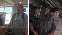 WWE's Bo Dallas -- Video Of Drunken Airport Arrest ... Are Those Nunchucks? (VIDEO)
