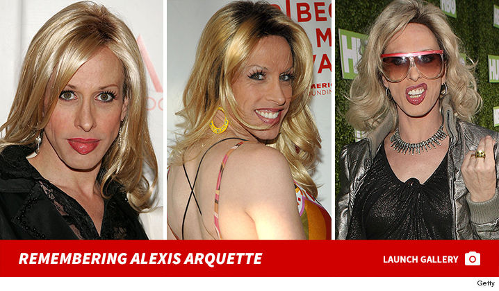 Alexis arquette naked as girl — photo 4
