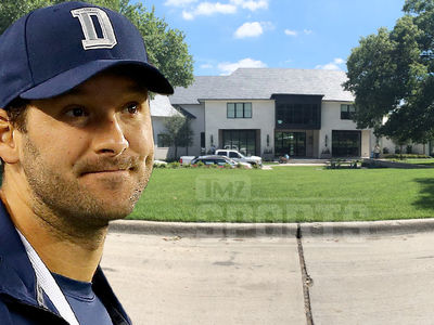 Tony Romo -- Building Insanely Expensive Mansion in Dallas (PHOTO GALLERY)