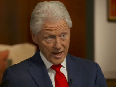 Bill Clinton -- Hillary's Fainted 'Frequently' ... CBS Edits Remark (VIDEO)