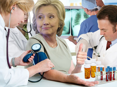 Hillary Clinton -- Healthy As Any 68-Year-Old On a Bunch of Meds
