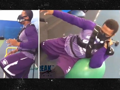 Ray Rice -- Working Out Like A MADMAN ... NFL Teams Interested (VIDEO)