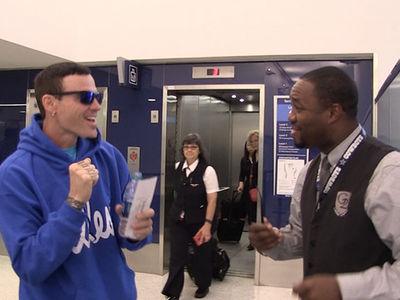 Vanilla Ice -- Delta Employee Proves America's Got Talent (VIDEO)