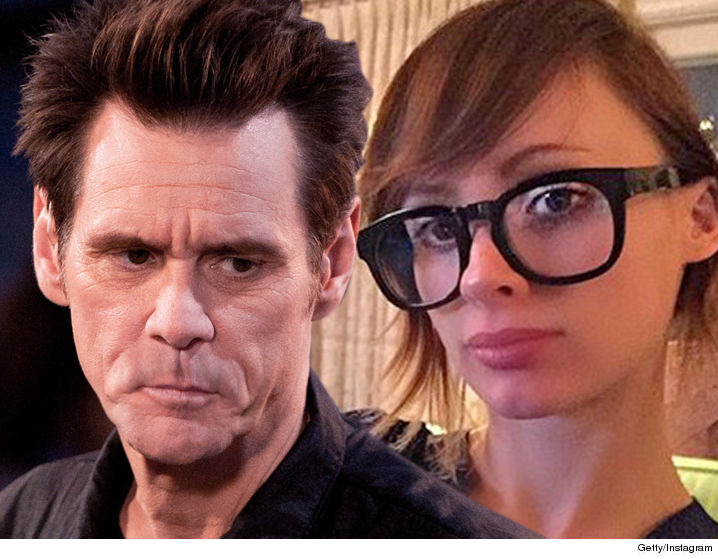 The estranged husband of Jim Carrey's ex-girlfriend -- who died of a drug  OD -- is an opportunist who is trying to smear the actor to make a buck ...  so ...