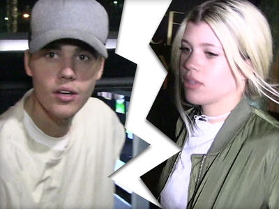 Justin Bieber and Sofia Richie -- Yeah, It's Over ...