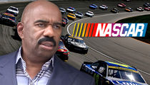 Steve Harvey -- Racist NASCAR Crushed His Speed Dreams ... Racing Exec Sues