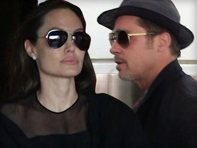 Angelina Jolie and Brad Pitt -- It's About Their Kids, NOT That Actress