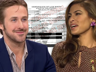 Eva Mendes, Ryan Gosling -- Top Secret Birth ... We Already Had Our Baby!!!