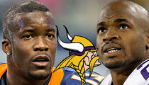 Vikings Ronnie Hillman -- 'Not Replacing Adrian Peterson' ... 'I'm Gonna Be Me'