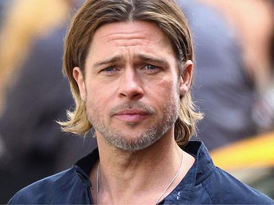Brad Pitt -- He's Fighting for Joint Custody of Kids