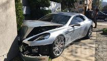 NFL's Kerry Rhodes -- Injured In Car Crash