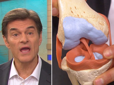 Adrian Peterson -- Dr. Oz Breaks Down Injury ... He'll Be Out This Long (VIDEO)