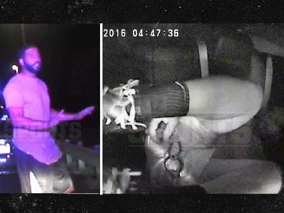 Austin Seferian-Jenkins Dash Cam -- Talked Himself Into DUI Arrest ... 'I Gotta Take a Huge S***' (VIDEO)