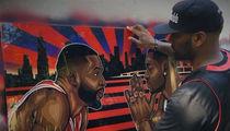 Dwyane Wade -- Ex-Teammate Gifts Dope Custom Art Piece (VIDEO)