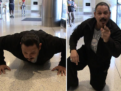 Emilio Rivera -- The White Zone is for Push Up Challenge (VIDEO)
