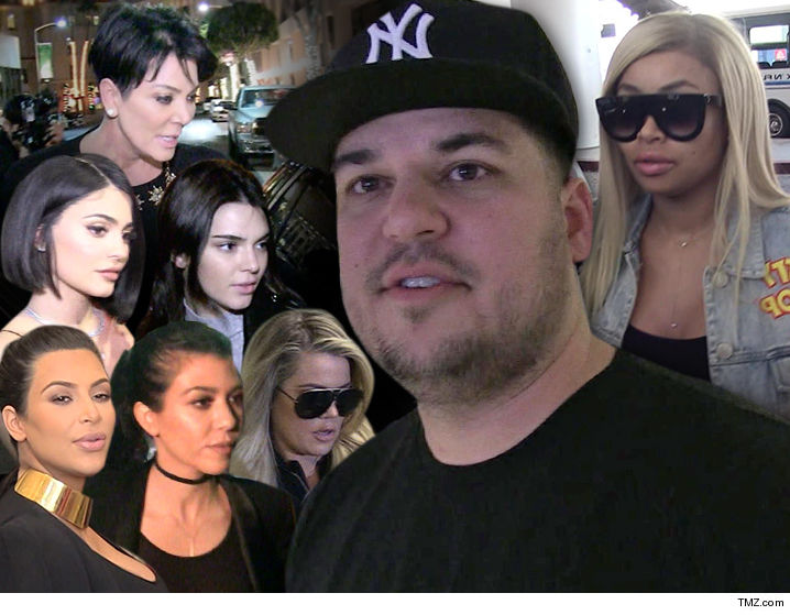Rob Kardashian And Blac Chyna Are Seriously On The Outs, And Kylie Jenner  Got Caught In The Cross Fire When She Planned A Baby Shower For Rob Sans  Chyna .