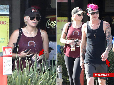 Paris Jackson -- Not Engaged! (PHOTOS)