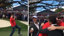 Rory McIlroy -- Misses Putt ... But Heckler Drains It! (VIDEO)