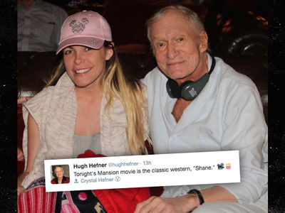 Hugh Hefner -- Dead Schmed!!! (PHOTO)