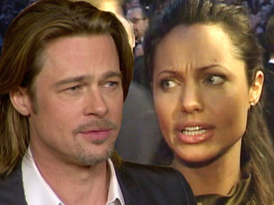Brad Pitt -- Angelina Jolie's Hurting Our Kids ... Moves to Seal Custody Documents