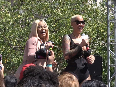 Amber Rose -- I'm Good with Blac Chyna Again ... She's My Slut Walk Partner (VIDEO)