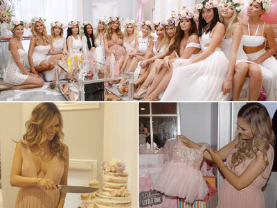 Julian Edelman -- Baby Shower Was a Perfect 10! (PHOTO GALLERY)