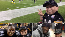 Verne Troyer -- New Steelers Good Luck Charm ... Hanging with Antonio Brown! (PHOTO GALLERY)