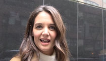 Katie Holmes -- She's Got the Kennedy Look ... Back to Playing Jackie Again (VIDEO)