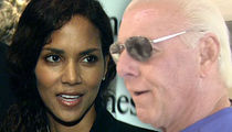 Halle Berry -- Ric Flair's Lying About Sex ... Rep Says