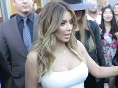 Kim Kardashian -- Video of Robbers Hits Dead End