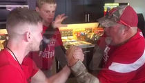 Larry the Cable Guy -- Snaps Guy's Arm (VIDEO)