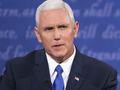 Gov. Mike Pence -- I Cannot Defend Donald Trump