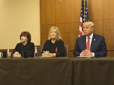 Donald Trump -- News Conference with Bill Clinton Accusers (VIDEO)