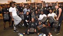 Steelers' Cam Heyward -- Racks Up 31 Sacks ... Treats Teammates to $15,000 In Backpacks (PHOTO GALLERY)