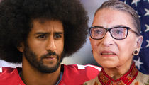Colin Kaepernick -- Fires Back at Ruth Bader Ginsburg ... 'It's Disappointing'