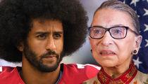 Colin Kaepernick -- Fires Back at Ruth Bader Ginsburg ... 'It's Disappointing'