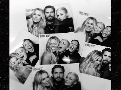 Kim Kardashian -- MIA at 'KUWTK' Wrap Party (PHOTOS)